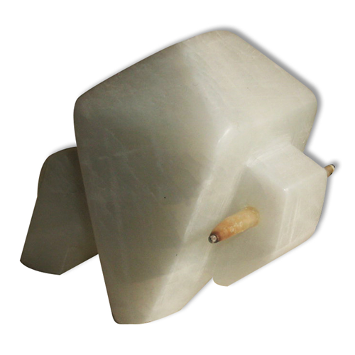 white buffalo fetish alabaster