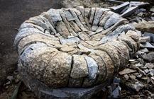 Granite firepit